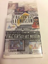 Final Fantasy Art Museum Trading Card Fourth Edition Box Japanese