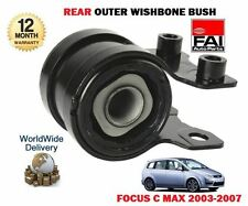 FOR FORD FOCUS C MAX 2003 - 2007 NEW REAR LOWER WISHBONE ARM OUTER BUSH
