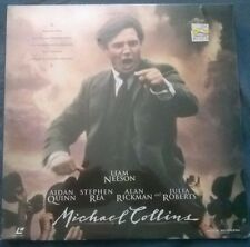 New Sealed MICHAEL COLLINS Laserdisc 1996 Widescreen Liam Neeson Aidan Quinn