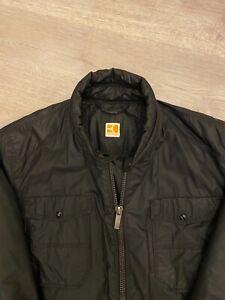 100% Genuine XL Hugo Boss Orange Label Jacket In Black Lacoste Size 54 / 44R