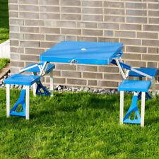 Campingtisch Klapptisch Picknick Sitzgruppe Koffer Alu Kunststoff Picknicktisch