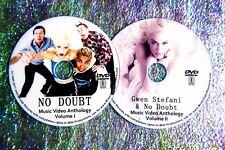 Button & Free No Doubt Gwen Stefani Music Video Collection 93-2017 2 Dvd 46 Vids