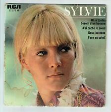 Sylvie VARTAN Vinyle 45T EP .. TOUTES BESOIN D'UN HOMME - FACE SOLEIL -RCA 87076