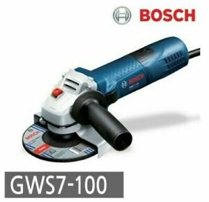 [Bosch] GWS7-100 Corded Angle Grinder Slim Power Tool 220V ⭐Tracking⭐