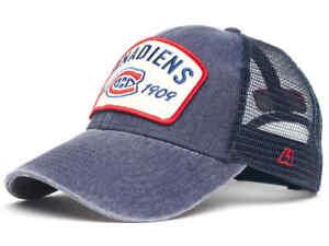 "Montreal Canadiens ""Vintage"" NHL trucker hat cap"