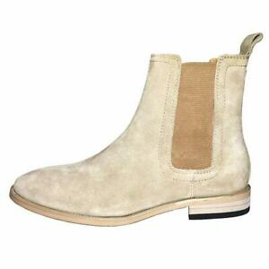 Men's Shoes Chelsea Boots Suede Formal Casual Party 46 47 Stretch Slipper Hot