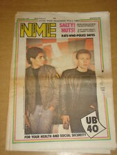 NME 1980 DEC 6 WHO POLICE BOOMTOWN RATS UB40 BOW WOW