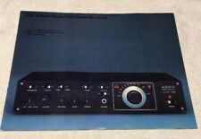 The Advent Model 300 Stereo Receiver Original Color Brochure M300