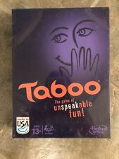 Board Game - Taboo The Game Of Unspeakable Fun by HASBRO Brand New! Free Ship!