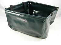 """ORTLIEB ~ WATERPROOF ~ CARRYING / DELIVERY BAG ~ BICYCLE ~ 11"""" X 11""""X 7"""" ~ GREEN"""