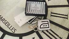 Anya hindmarch silver iron coin purse
