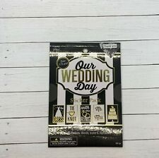 The Paper Studio Our Wedding Day Sticker Pad