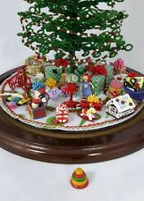Westrim Beaded Miniature Christmas Tree Under Tree Decorations * Stacking Toy
