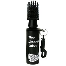 Groove Tube Golf Club Cleaner Brush Squeeze Bottle w/ Nylon Bristles and Clip
