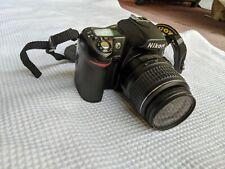 Nikon D80 camera body with Nikon AFS 18-55mm lens