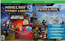 Minecraft: Story Mode-The Complete Adventure Plus Explorers Pack Addon Xbox One