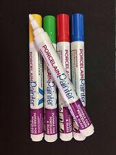 Rainbow PORCELLANA pittore 5 mm Penna, personalizzare tazze e piatti (assortiti confezione da 5)