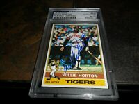 1976 Topps #320 Willie Horton Signed Detroit Tigers PSA/DNA Certified Auto