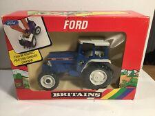 Britains Farm 9527 Ford Tractor 5610 In Original Box 1987, Read Listing