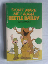 5 somewhat early Beetle Bailey paperbacks by Mort Walker (1979-81)