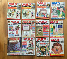 Mad Magazine Lot of 48 magazines 1974 to 1989, mostly 1970s vintage