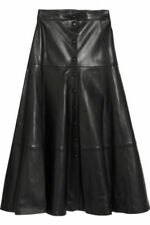 Women's Genuine Lambskin Leather Skirt New Hot Party Ladies Sexy mini - LHSK010