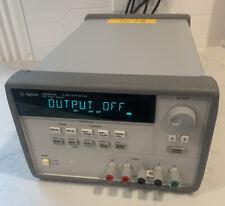 Agilent Hp Keysight E3634a Programmable Dc Power Supply 200 Watts
