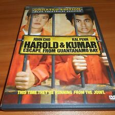 Harold & Kumar Escape from Guantanamo Bay (DVD, Widescreen 2008) Unrated Used