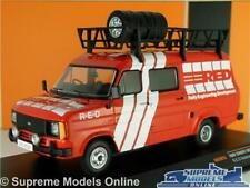 FORD TRANSIT MK2 MODEL VAN RED RALLY SUPPORT VEHICLE 1:43 IXO 1985 RAC281X K8