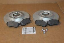 Front brake pads & discs kit 256mm Corrado / Golf MK2 16v  New genuine VW part