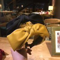 Women's Big Bow Knot Hair Band Wrap Headband Hairband Hair Accessories Headwear