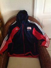 Adidas New England Revolution Mls soccer Presentation Hooded Jacket NWT XL Men's