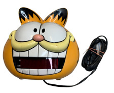 Sunbeam Vintage 1991 Non-talking Garfield Head Digital Alarm Clock model 887-99