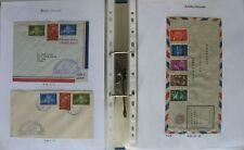 s1722) Niederländische Antillen Ersttagsbriefe ca 550 FDC 1949 - 2006
