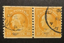 TDStamps: US Stamps Scott#497 Used 1 Thin Pair 24 1/2mm