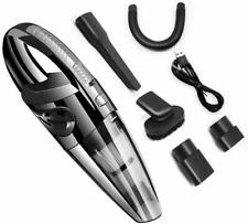 Handheld Car Vacuum Cordless Cleaner Wet&Dry Strong Portable Auto Black