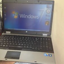 "NOTEBOOK  HP 6550b INTEL CORE i5 @ 2,4 Ghz!! 4 GB ram 320HD 15,6"" WEBCAM win  7"