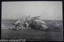 Abgeschossenes Deutsches Flugzeug vor Verdun Bezonvaux Kennung G15