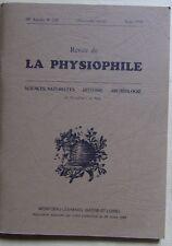 LA PHYSIOPHILE n° 120 06/1994 sciences naturelles histoire archéologie Bourgogne