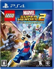 Warner LEGO Marvel Super Heroes 2 SONY PS4 PLAYSTATION 4 JAPANESE VERSION