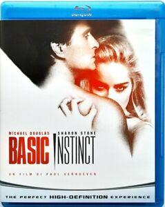Blu-Ray Basic Instinct De Paul Verhoeven 1992 Usagé