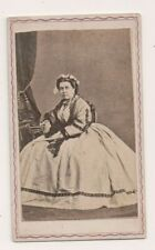 Vintage CDV Women identified as Rosano Gonzales Opera Singer ?? Actress ?