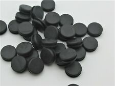 10mm Rubber Grommet Without Hole, Closed Blind Grommet, Fits 1.6mm Thick -10 Pcs