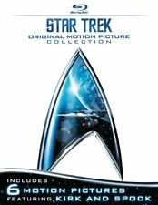 STAR TREK: ORIGINAL MOTION PICTURE COLLECTION****BLU-RAY****REGION FREE****NEW