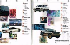 BIG {77pg} 1989 CHEVY Brochure/Catalog:CAMARO,CAPRICE,CORSICA,BERETTA,(corvette)