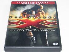 Xxx Vin Diesel (Dvd, 2005, 2-Disc Set, Uncensored, Unrated, Directors Cut)