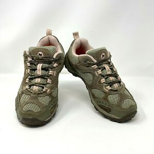 Merrell Women's Air Cushion Pink & Gray Athletic Outdoor Hiking Shoes
