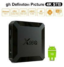 TV Box Android 10.0 X96Q 2GB +16GB Quad Core 4K 2.4G WIFI 3D HD 1080P Smart IPTV