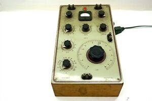 HEATHKIT Impedance Bridge Model IB-1B Vintage Original ~ Powers On Fine