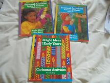 3 Scholastic Bright Ideas for Early Years books - Seasonal